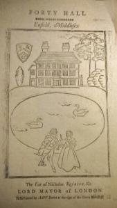 Forty Hall Print