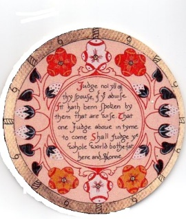 Elizabethan Roundel, c, Ann Frances Hall032