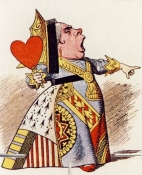 Queen of Hearts Tenniel