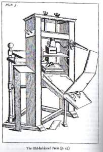 Common Press of 17th Century