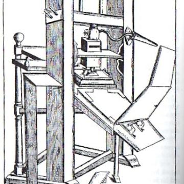 Common Press of 17th Century