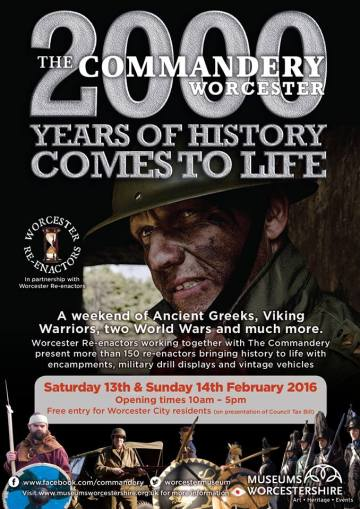 Flyer for forthcoming event