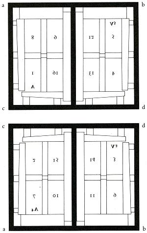 Octavo scheme by Plantin